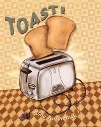 Let's toast for the toast.